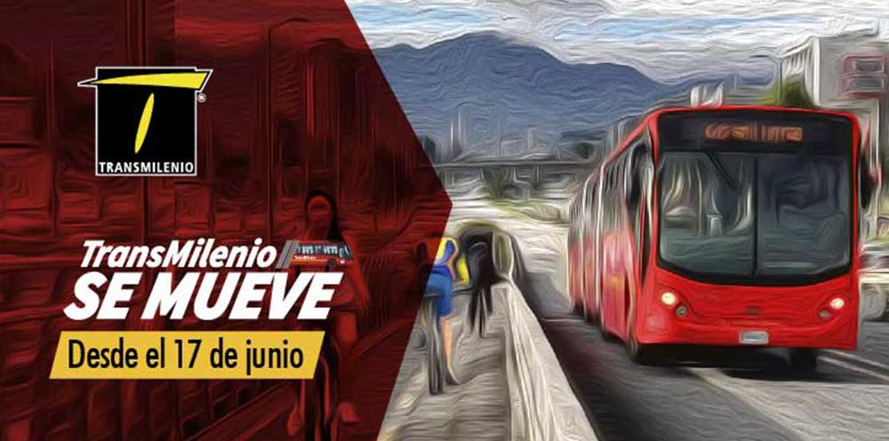 Rutas fáciles del TransMilenio cambian desde este 17 de Junio
